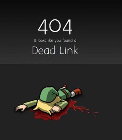 Link mort
